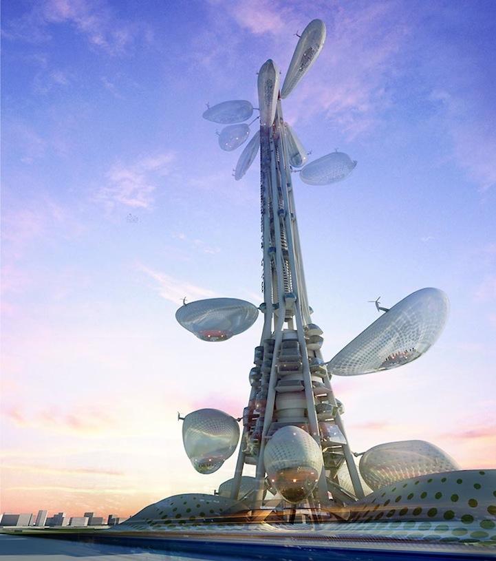 une tour futuriste... style 1910 ? (3/3)