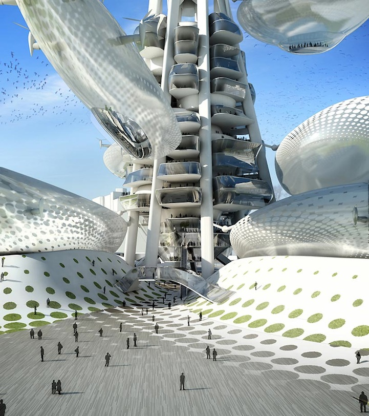 une tour futuriste... style 1910 ? (2/3)