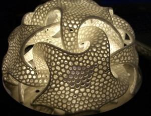 Une sculpture de Bathsheba, réalisée avec une imprimante en 3D (Maker Faire/Flickr)