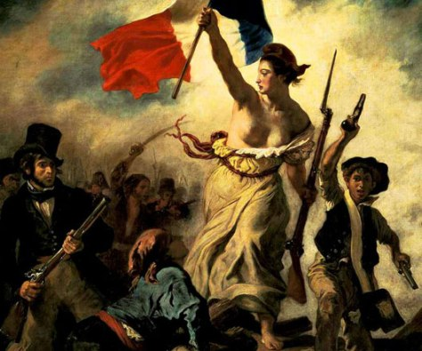 Eugène DELACROISX, La liberté guidant le peuple, 1831