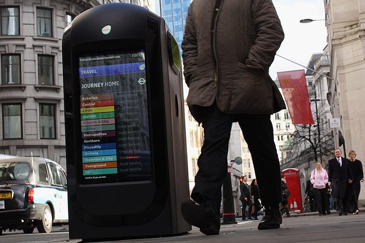 la nouvelle poubelle urbaine... bien plus qu'une poubelle