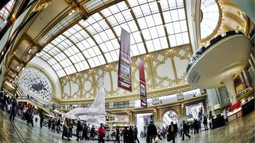 Shopping Mall, Stadtfeestzaal, Antwerpen, Belgium