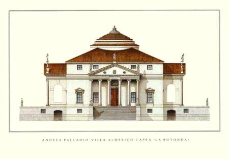 Villa Rotonda, Palladio.