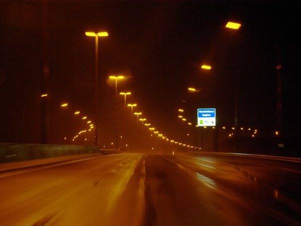 Belgian Motorway light