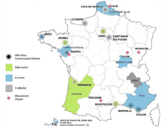 l'Open Data en France