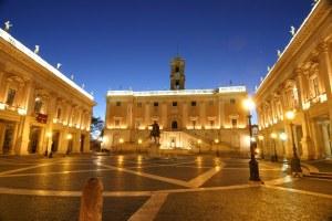 Piazza del Campidoglio - 1536-1588, Michelangelo y Giacomo Della Porta (2)