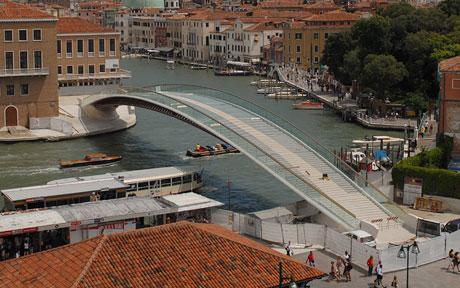 calatrava bridge venice photos - photo#11