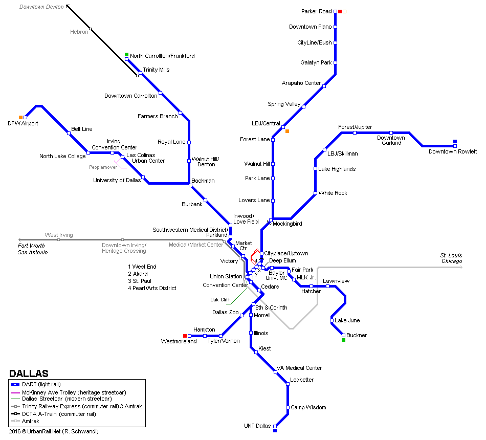 dallas-light-rail-map