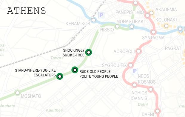métro athens